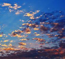 As the Sun Sets by Christina  Ochsner