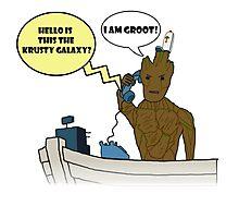 I am Groot! Photographic Print