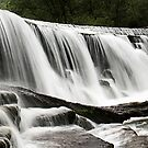 Monsal Dale Weir Panorama by Paul Woloschuk