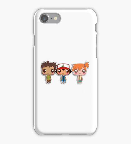 Ash,Brock & Misty iPhone Case/Skin
