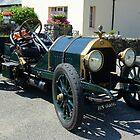 1913 Clalmers vintage car by John Morris