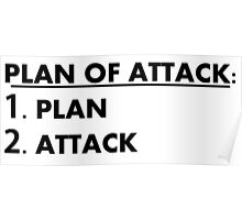 Plan of Attack Poster