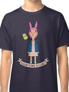 Stranger Belchers - Fight Like a Girl Classic T-Shirt