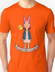 Stranger Belchers - Fight Like a Girl Unisex T-Shirt