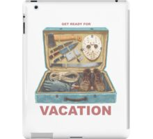 Get Ready For VACATION! iPad Case/Skin