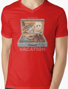 Get Ready For VACATION! Mens V-Neck T-Shirt