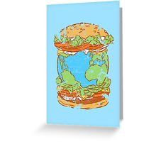 Taste of the world Greeting Card