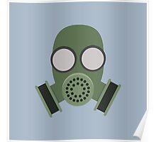 Army Gasmask Poster