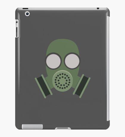 Army Gasmask iPad Case/Skin
