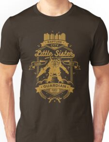 Little Sister Protector Gold Unisex T-Shirt