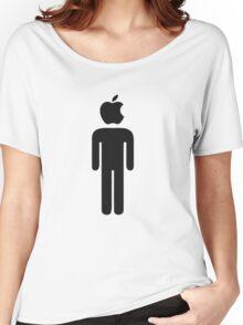 Apple Man Women's Relaxed Fit T-Shirt
