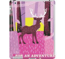 For an Adventure Sweden retro travel poster. iPad Case/Skin