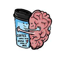 Coffee- Brain Dead Photographic Print