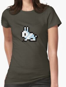 Pixel Bunny - Terraria Womens Fitted T-Shirt