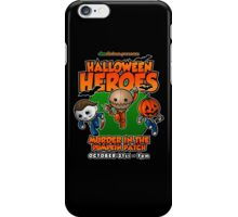 Halloween Heroes! iPhone Case/Skin