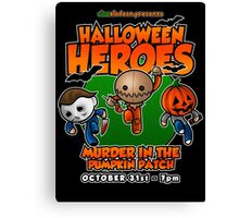 Halloween Heroes! Canvas Print