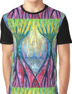 Smeared Morning Graphic T-Shirt