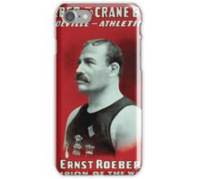 Performing Arts Posters Roeber and Crane Bros Vaudeville Athletic Co 0556 iPhone Case/Skin