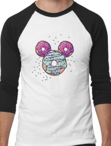 Pop Donut -  Berry Frosting Men's Baseball ¾ T-Shirt
