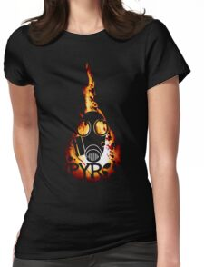 Team Fortress 2 - Pyro Womens Fitted T-Shirt