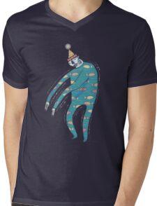The Shakey Fishman Mens V-Neck T-Shirt