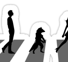 Guardians of the Galaxy - Abbey Road Beatles Sticker