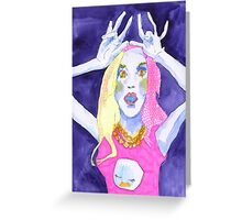 Lady fingers Greeting Card