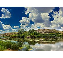Clouds Over The River Photographic Print
