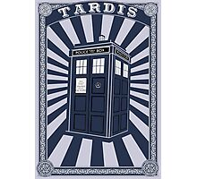 Tardis (Time Machine) Photographic Print