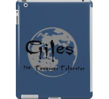 Giles the Teenager Tolerator iPad Case/Skin