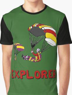 the Real EXPLORER shirt - Dustin's Explorer shirt in Stranger Things Graphic T-Shirt