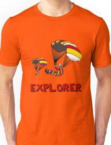 the Real EXPLORER shirt - Dustin's Explorer shirt in Stranger Things Unisex T-Shirt