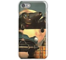 Old-timers with airplane iPhone Case/Skin