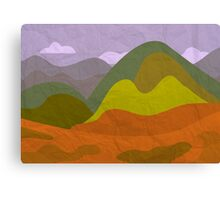 Alone in the valley Canvas Print