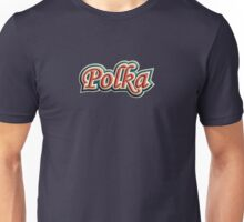 vintage colorful polka Unisex T-Shirt