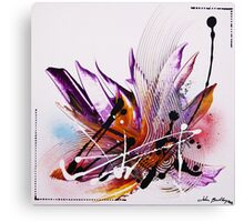 Eugenia - Abstract Painting Canvas Print