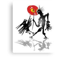 follow crow Canvas Print