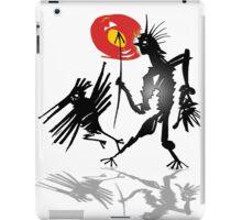 follow crow iPad Case/Skin