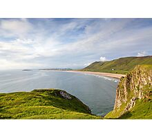 Rhossili Bay Photographic Print