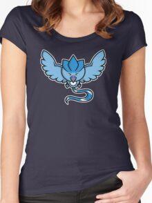 Super Cute Legendary Bird - Team Blue Women's Fitted Scoop T-Shirt