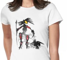 follow crow 2 Womens Fitted T-Shirt