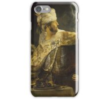 Rembrandt - Belsazar iPhone Case/Skin