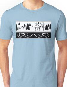 Scary Winter Scenery Unisex T-Shirt