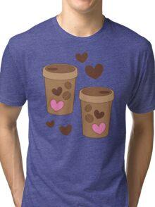 coffee cups love Tri-blend T-Shirt