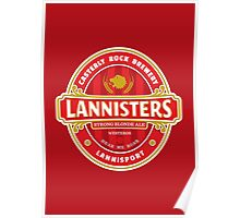 Lannisters Strong Blonde Poster