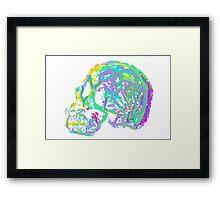 The creative mind Framed Print