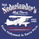 Ned Nederlander Mail Plane - Three Amigos by SykoGraphx