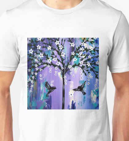 Purple Tree of Life Unisex T-Shirt