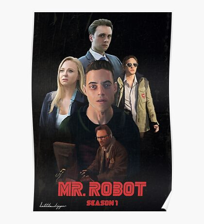 Mr. Robot Season 1  Poster