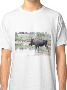 Thirsty moose a Thursday morning Classic T-Shirt